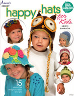 Happy Hats For Kids, 15 Playful Hat Designs For Boys And Girls - Book