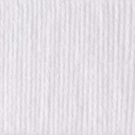 Patons White Astra Yarn (3 - Light)
