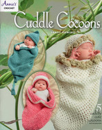 Cuddle Cocoons: Crochet 5 Cuddly Cute Cocoons And Accessories  - Book