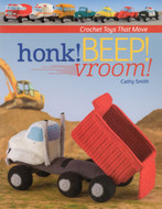 Bookhook! Beep! Vroom! Crochet Toys That Move