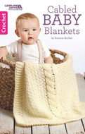 Cabled Baby Blankets - Little Book