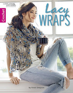Lacy Wraps-Crochet- Book