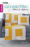 Geometric Pillows And Afghans - Little Book