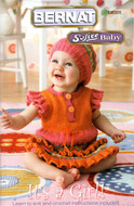 "Bernat Softee Baby ""It's A Girl!"" Pattern Book"