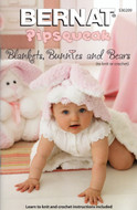 "Bernat Pipsqueak ""Blankets, Bunnies And Bears"" Pattern Book"