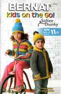 "Bernat Softee Chunky ""Kids On The Go!"" Pattern Book"
