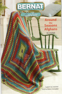 "Bernat Satin ""Around The Seasons Afghans"" Pattern Book"
