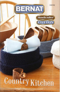 "Bernat Handicrafter Cotton ""Country Kitchen"" Pattern Book"