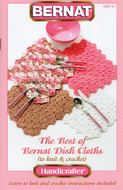 "Bernat Handicrafter Cotton ""The Best Of Bernat Dishcloths"" Pattern Book"