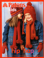 """Patons Assorted Yarns """"Hip Hop"""" Pattern Book"""
