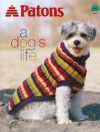 "Patons Decor & Canadiana ""A Dog's Life"" Pattern Book"
