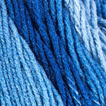 Red Heart True Blue Super Saver Ombre Yarn (4 - Medium)