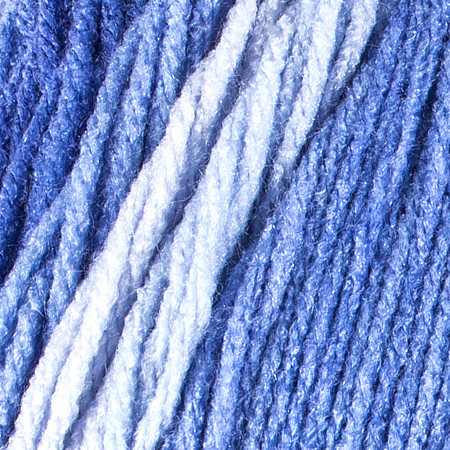 Red Heart Baja Blue Super Saver Ombre Yarn (4 - Medium)