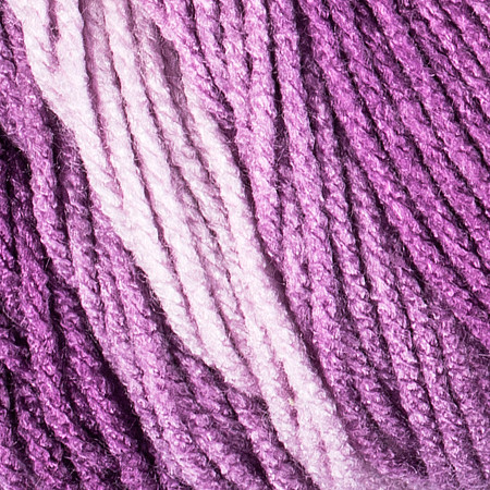 Red Heart Purple Super Saver Ombre Yarn (4 - Medium)