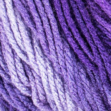 Red Heart Violet Super Saver Ombre Yarn (4 - Medium)