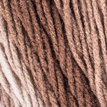Red Heart Cocoa Super Saver Ombre Yarn (4 - Medium)