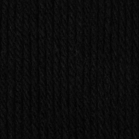 Caron Black One Pound Yarn (4 - Medium)