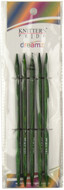 """Knitter's Pride Symfonie Dreamz 5-Pack 6"""" Double Pointed Knitting Needles (Size US 9 - 5.5 mm)"""