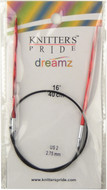 "Knitter's Pride Symfonie Dreamz Fixed 16"" Circular Knitting Needle (Size US 2 - 2.75 mm)"