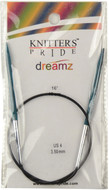 "Knitter's Pride Symfonie Dreamz Fixed 16"" Circular Knitting Needle (Size US 4 - 3.5 mm)"