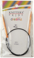 "Knitter's Pride Symfonie Dreamz Fixed 16"" Circular Knitting Needle (Size US 5 - 3.75 mm)"