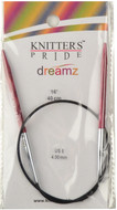 "Knitter's Pride Symfonie Dreamz Fixed 16"" Circular Knitting Needle (Size US 6 - 4 mm)"