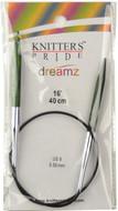 "Knitter's Pride Symfonie Dreamz Fixed 16"" Circular Knitting Needle (Size US 9 - 5.5 mm)"