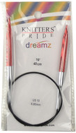 "Knitter's Pride Symfonie Dreamz Fixed 16"" Circular Knitting Needle (Size US 10 - 6 mm)"