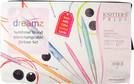 Knitter's Pride Symfonie Dreamz Normal Interchangeable Circular Knitting Needles Deluxe Set (9 Pairs)