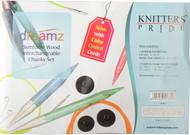 Knitter's Pride Symfonie Dreamz Normal Interchangeable Circular Knitting Needles Chunky Set (3 Pairs)