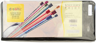"Knitter's Pride Symfonie Dreamz 18-Pack 10"" Single Pointed Knitting Needles Set"