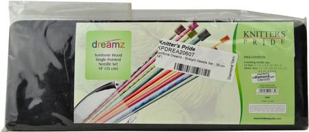 "Knitter's Pride Symfonie Dreamz 18-Pack 14"" Single Pointed Knitting Needles Set"