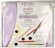 "Knitter's Pride Symfonie Dreamz Special 16"" Interchangeable Circular Knitting Needles Deluxe Set (7 Pairs)"