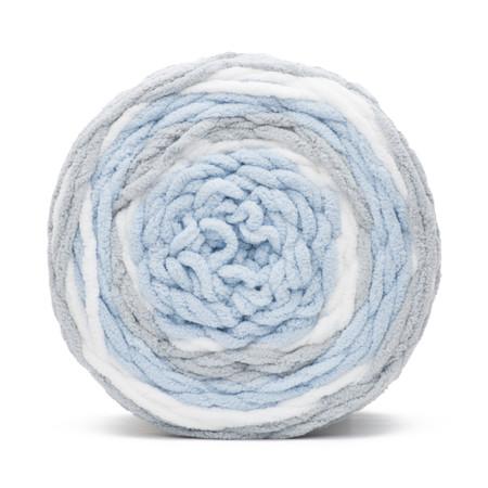 Bernat Above The Clouds Baby Blanket Stripes Yarn (6 - Super Bulky)