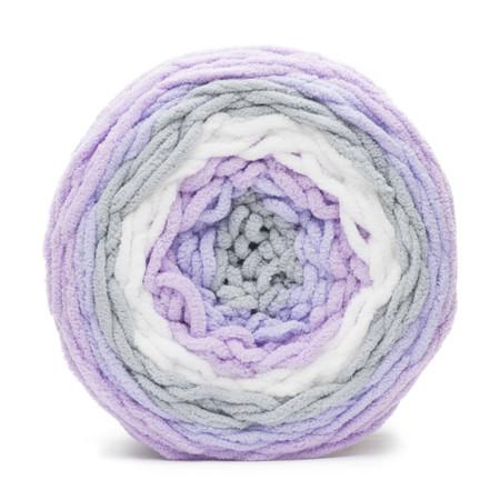 Bernat Violets Baby Blanket Stripes Yarn (6 - Super Bulky)