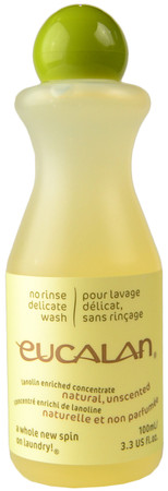 Eucalan Unscented No Rinse Delicate Wash (3.3 fl. oz. / 100 mL)