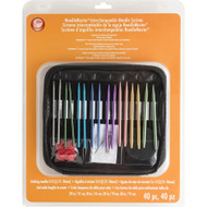 Boye Tools 40-Pack Needle Master Interchangeable Needle System