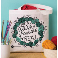 Boye Tools The Slash Struggle Is Real Printed Tote Bag