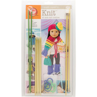 "Boye Tools I Taught Myself To Knit Kit (18"" Doll Clothes)"