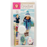 """Boye Tools I Taught Myself To Crochet Kit (18"""" Doll Clothes)"""