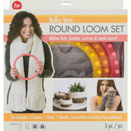 Boye Tools 5 pc Round Loom Set For Bulky Yarns