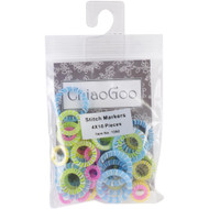ChiaoGoo Tools 40-Pack Stitch Markers (4 Sizes)