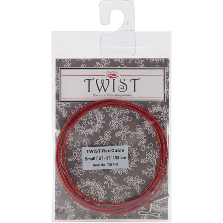 "ChiaoGoo Tools Twist Red Lace 37""/93cm Interchangeable Cable - Small"