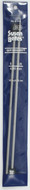 "Susan Bates Quicksilver 2-Pack 10"" Single Point Knitting Needles (Size US 6 - 4 mm)"