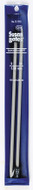 "Susan Bates Quicksilver 2-Pack 10"" Single Point Knitting Needles (Size US 9 - 5.5 mm)"