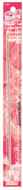 "Susan Bates Silvalume 10"" Double-Ended Aluminum Afghan / Tunisian Crochet Hook (Size US G-6 - 4 mm)"