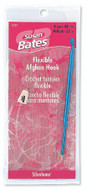 "Susan Bates Silvalume 22"" Flexible Aluminum Afghan / Tunisian Crochet Hook (Size US H-8 - 5 mm)"