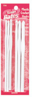Susan Bates Luxite 6-Pack Plastic Crochet Hooks (Sizes 3.75 mm - 6.5 mm)