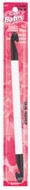 """Susan Bates Luxite 10"""" Double-Ended Plastic Crochet Hook (Size US P-16 - 11.5 mm)"""