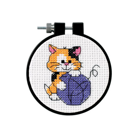 Dimensions Cute Kitty Cross Stitch Kit